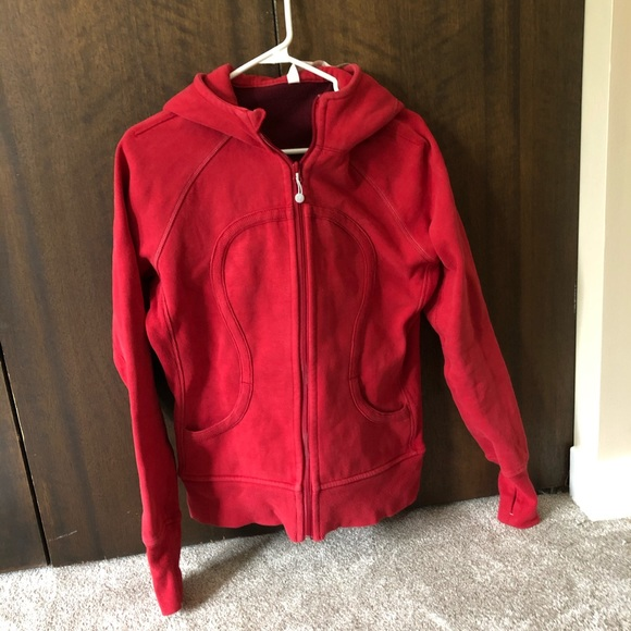 Red Zip-up